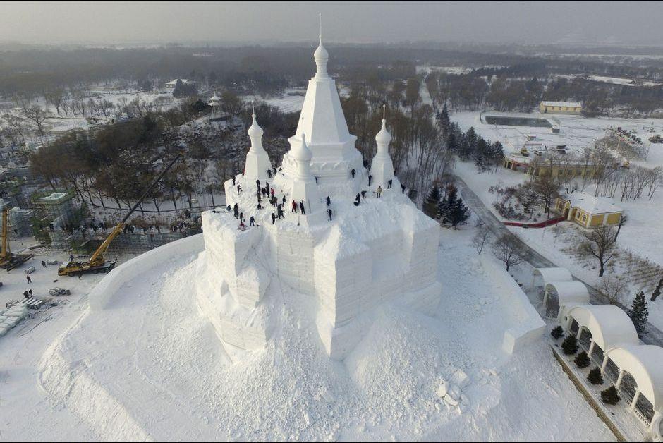 A Harbin, le royaume des neiges a ouvert ses portes