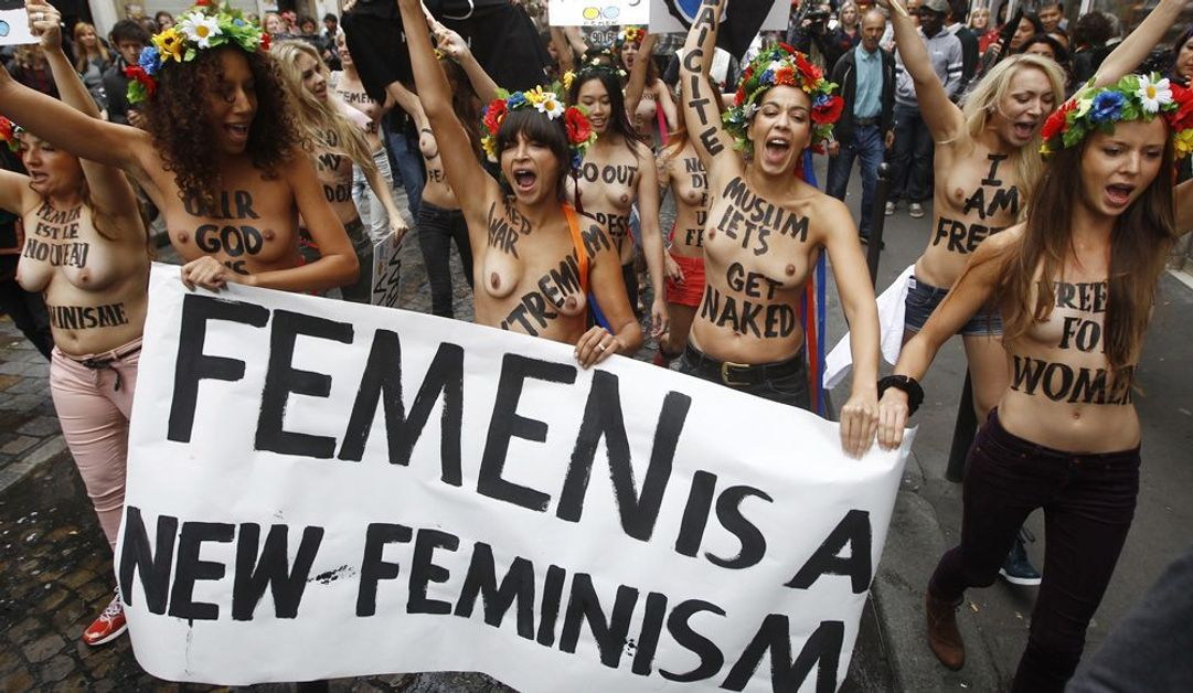 Femen à Paris