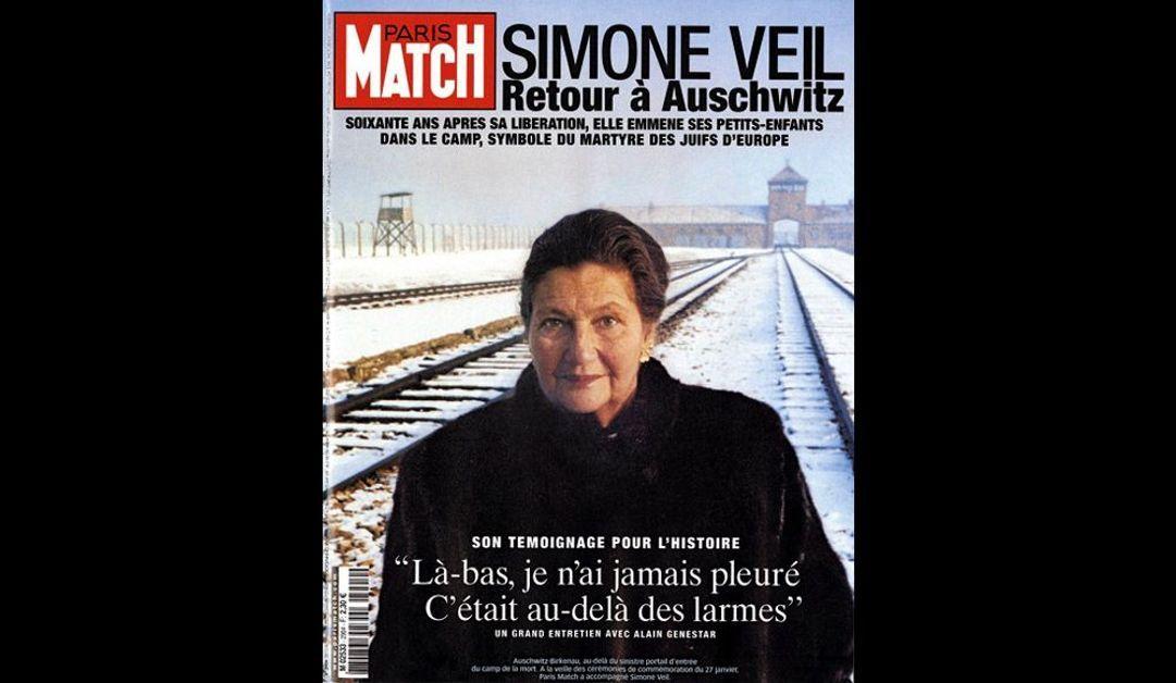 Guillaume Pépy. Président de la SNCF « Simone Veil. Retour à Auschwitz » 13 janvier 2005