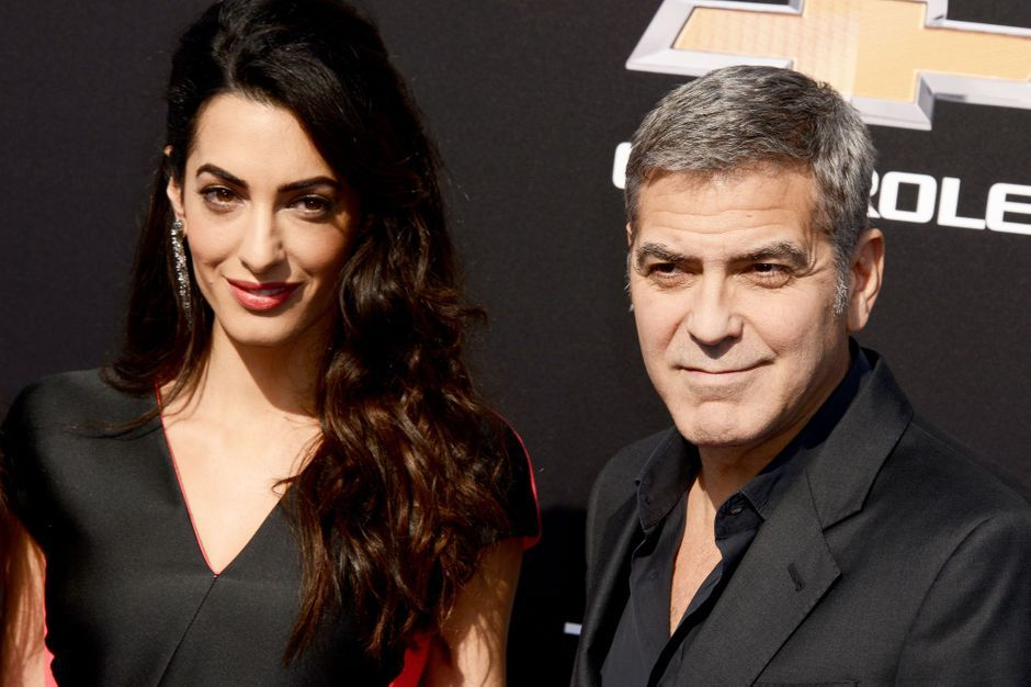 ils ont d cid que c 39 tait le bon moment amal et george clooney essayeraient d 39 avoir un b b. Black Bedroom Furniture Sets. Home Design Ideas