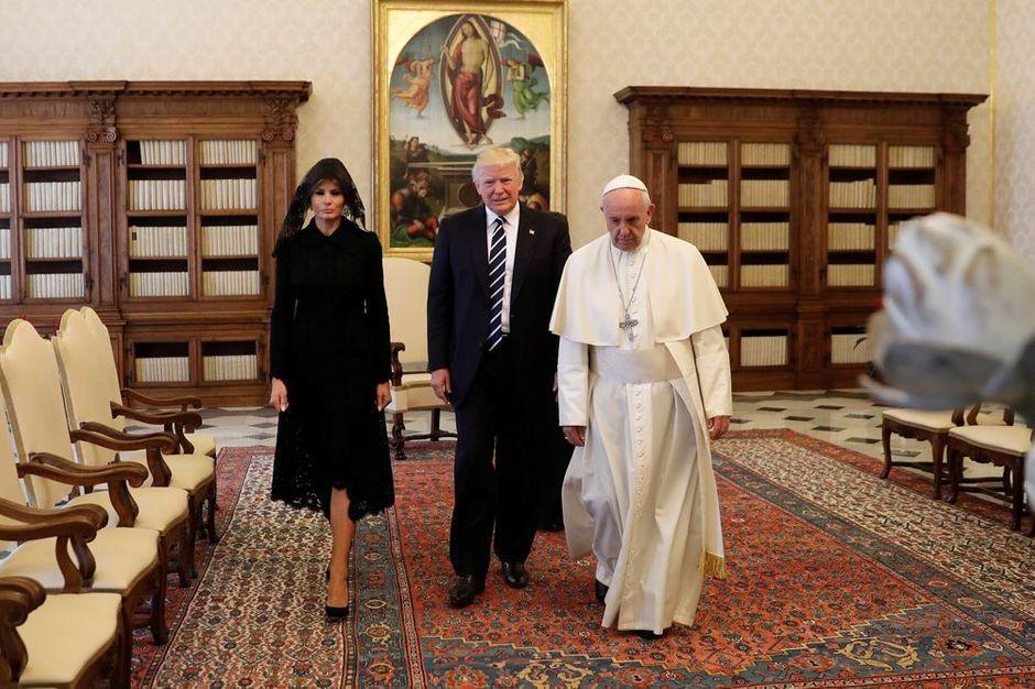 Rencontre de 2 papes