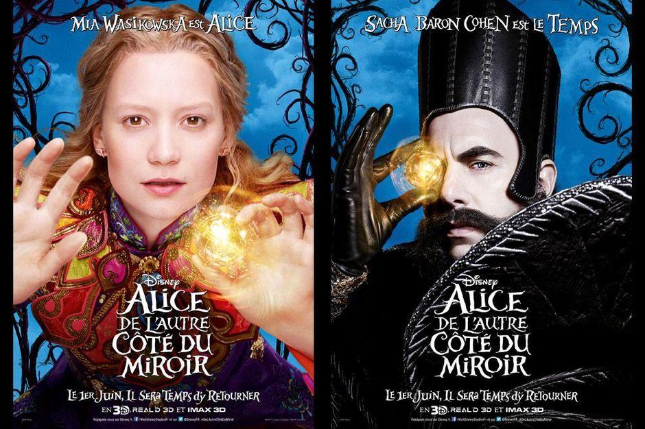Alice de l 39 autre c t du miroir d voile ses personnages for L autre cote du miroir