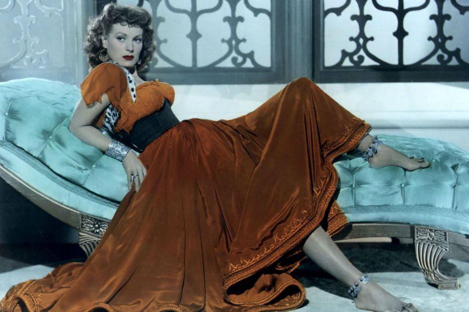 la star est morte 95 ans maureen o 39 hara tait la reine du technicolor. Black Bedroom Furniture Sets. Home Design Ideas