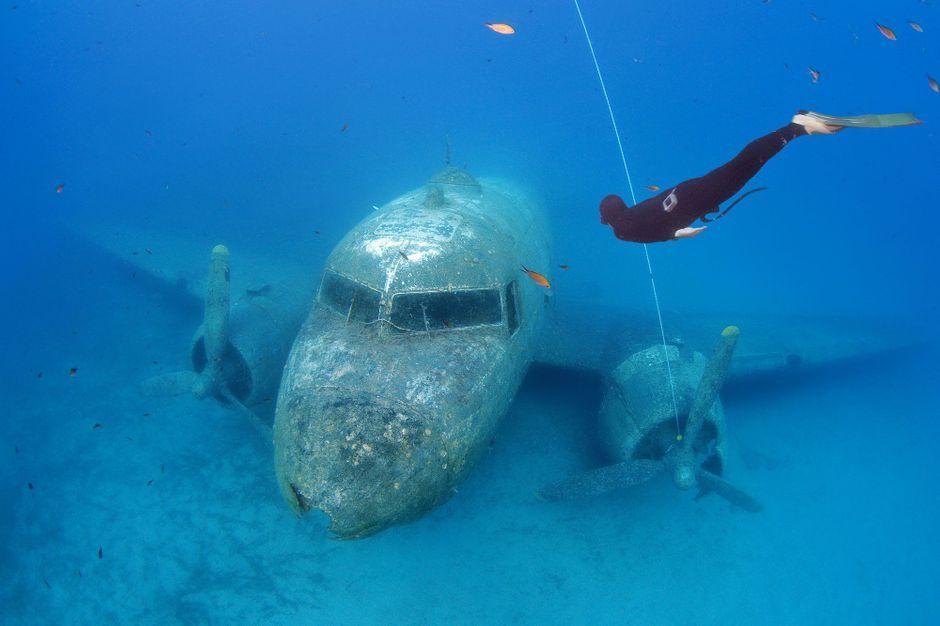Plongez avec les chasseurs d paves - Film porte avion voyage dans le temps ...