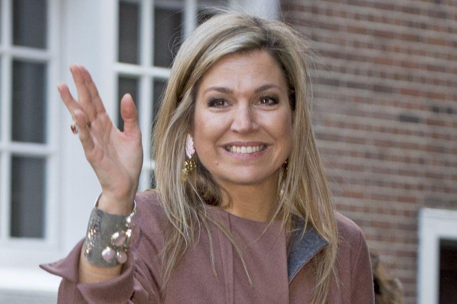 Reine Des Pays Bas En Photos Maxima Toujours Originale