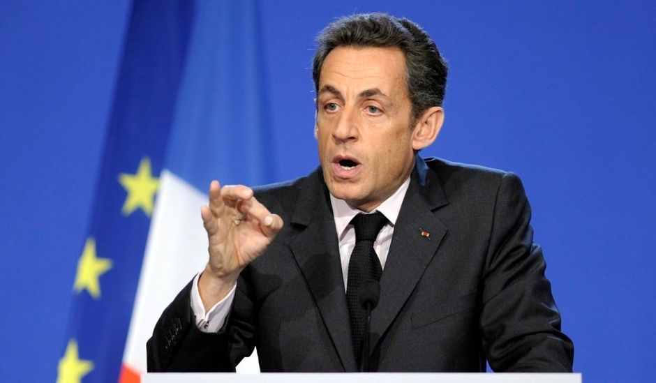 nicolas sarkozy s 39 est rendu tremblay en france. Black Bedroom Furniture Sets. Home Design Ideas