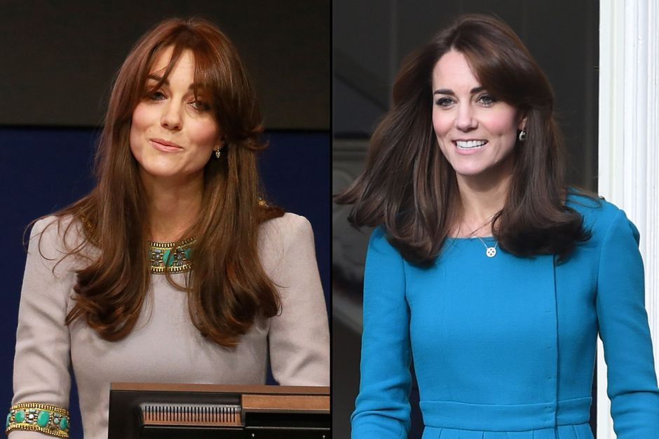 Kate middleton sa nouvelle coupe de cheveux jeune maman for Coupe cheveux kate middleton