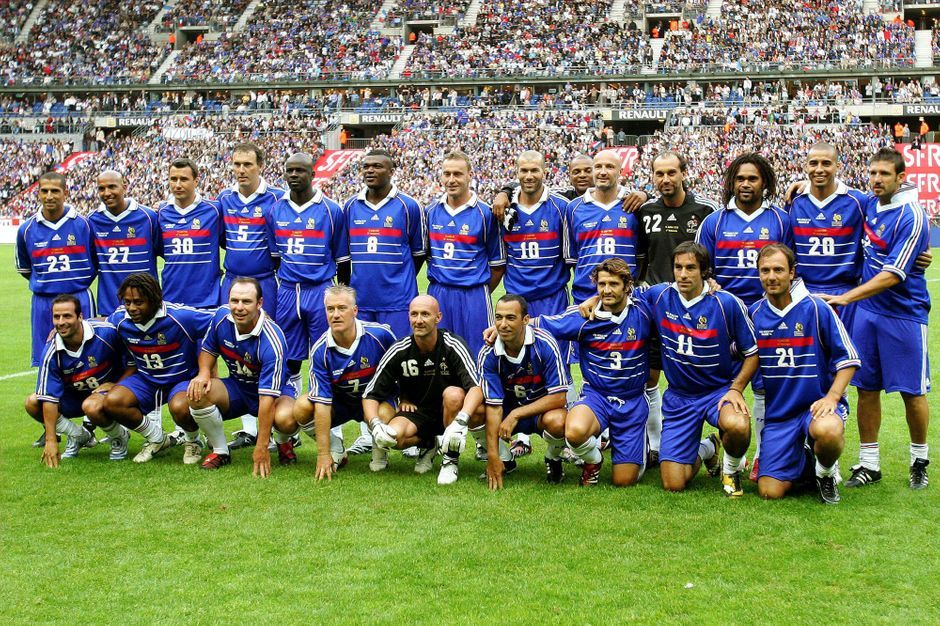 Football que sont devenus les champions du monde 98 - Liste des coupes du monde ...