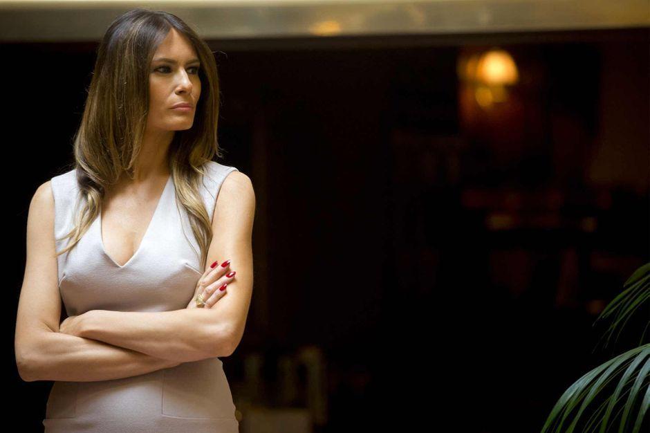 news people actu donald trump femme melania mannequin desormais first lady