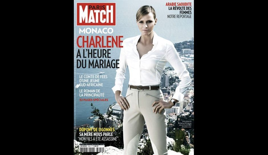 C Tait Dans Paris Match La Semaine Derni Re