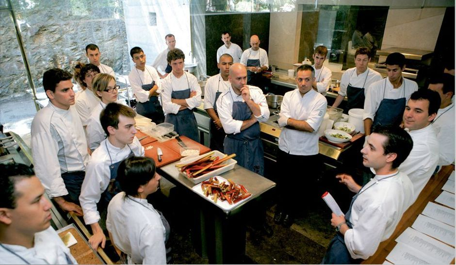 Ferran adria meilleur cuisinier du monde - Cuisine moleculaire bruxelles ...