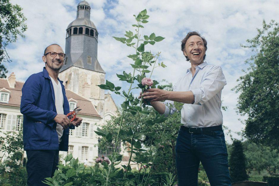 St phane bern cultive son bonheur avec lionel - Compagnon de stephane bern ...