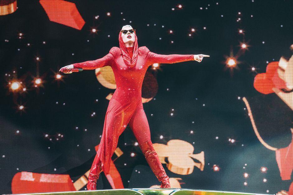 Katy Perry à Paris pour deux shows de folie