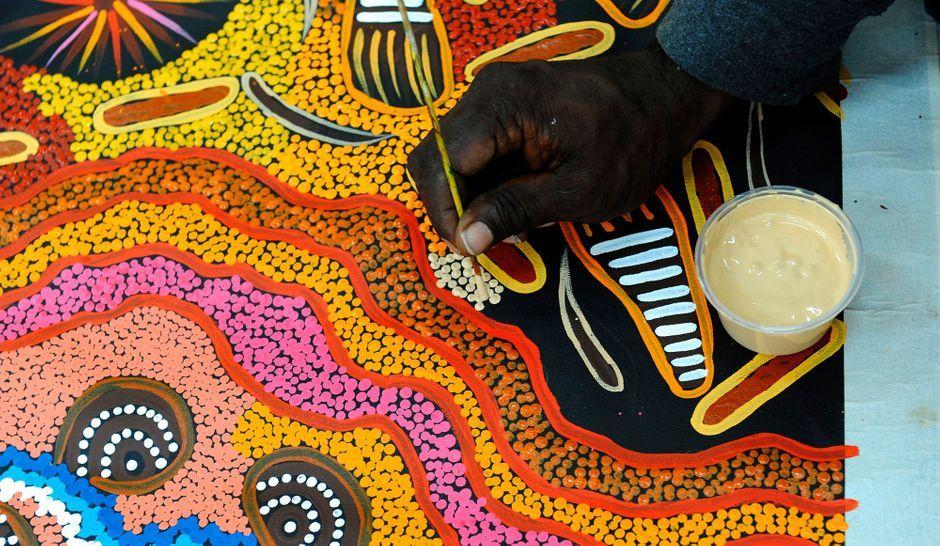 Australie dans les secrets de papunya for Les secrets de paris