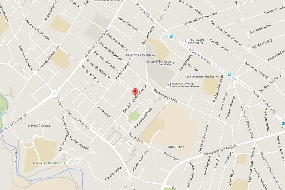 Nantes une femme d c d e il y a plus d 39 un an retrouv e for 11 rue de la maison blanche 44941 nantes