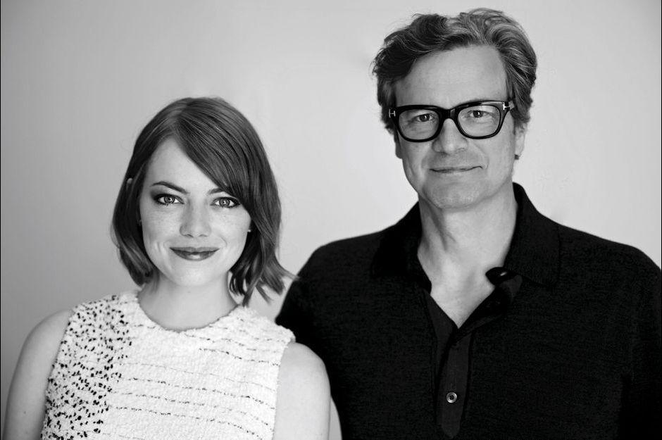 Dans l'oeil de Nikos: Emma Stone et Colin Firth