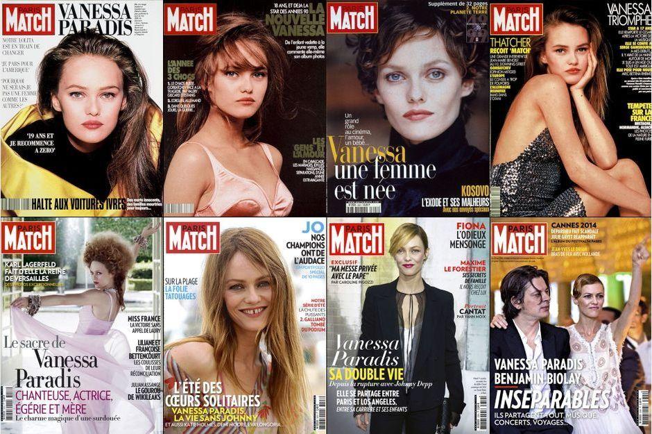 Vanessa Paradis et Match, une longue histoire