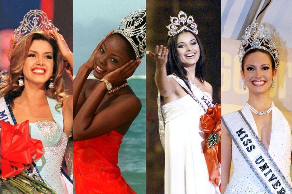 Les reines de beauté de ces 20 dernières années