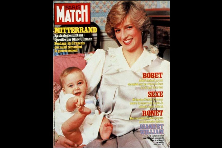 Diana et William (N° 1765 - 25 Mars 1983)