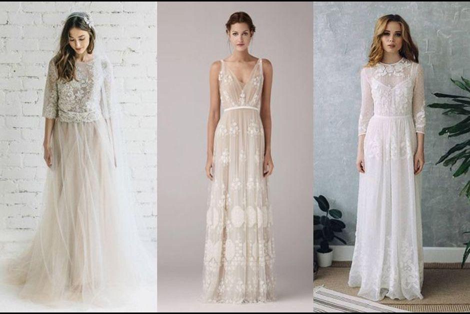 Tendances 2018 15 Robes De Mariee Reperees Sur Pinterest