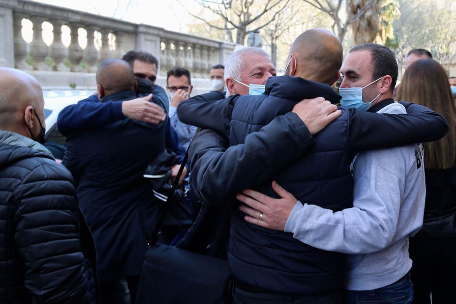 Jugement clément au procès des policiers de la Bac Nord de Marseille
