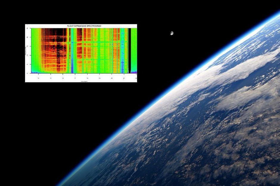 A écouter - Un son mystérieux capté dans la stratosphère