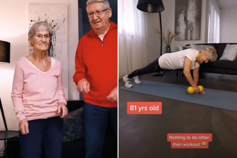 """À 81 ans, la mamie """"fitgirl"""" fait le buzz sur TikTok"""