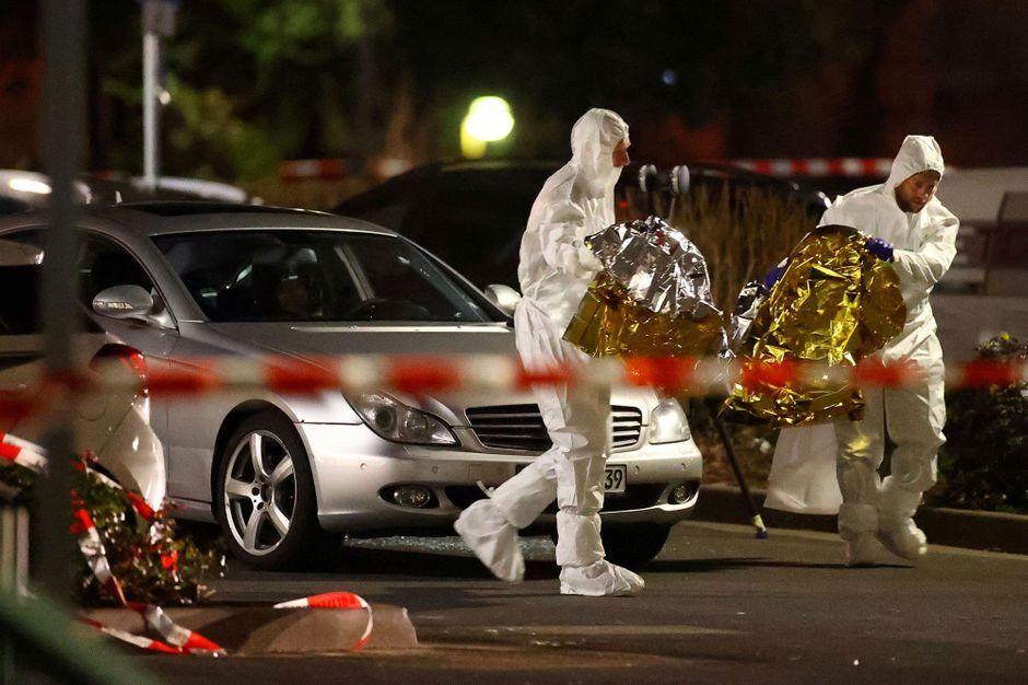 En images : sur les lieux des attaques meurtrières en Allemagne