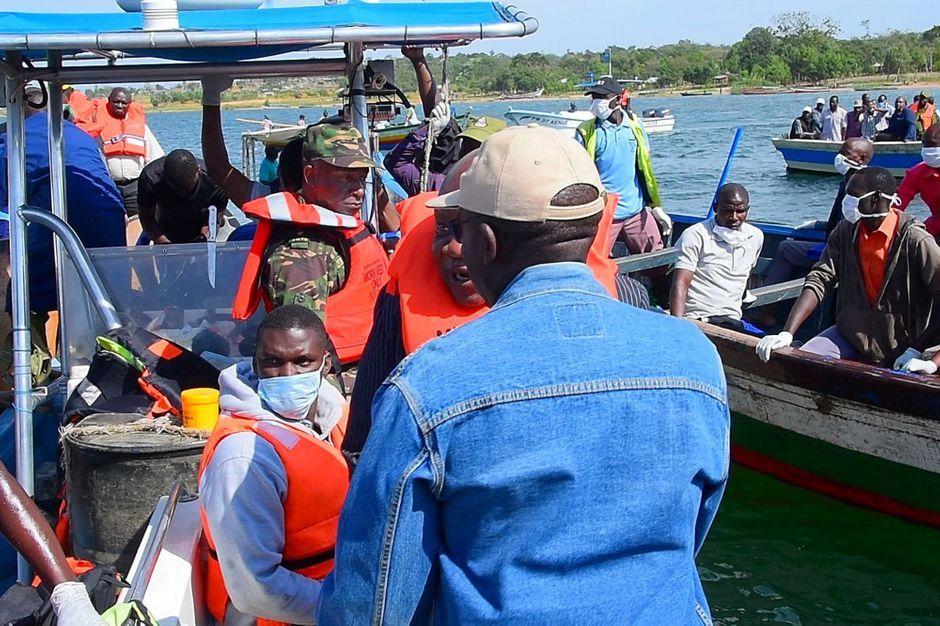 Naufrage en Tanzanie: le bilan s'alourdit à 151 morts