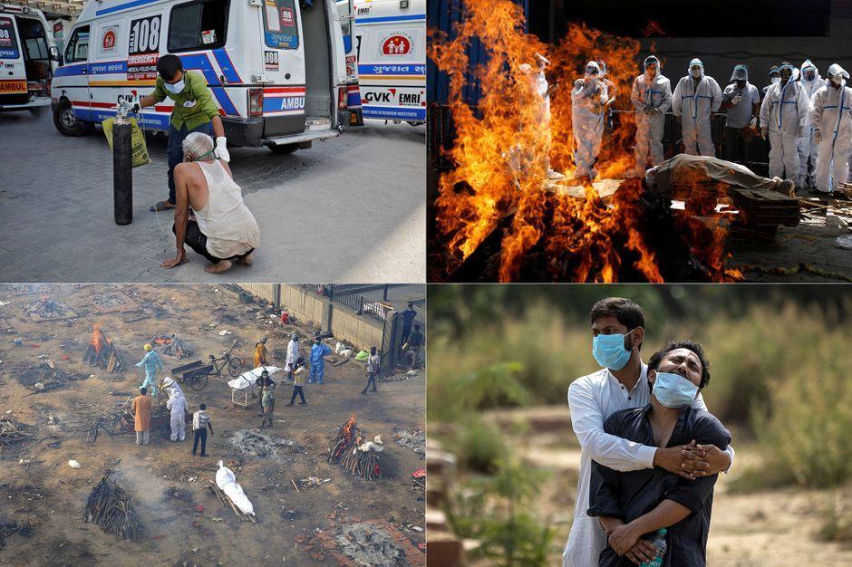 Nouvelle vague du covid-19 en Inde, les images de la tragédie sanitaire