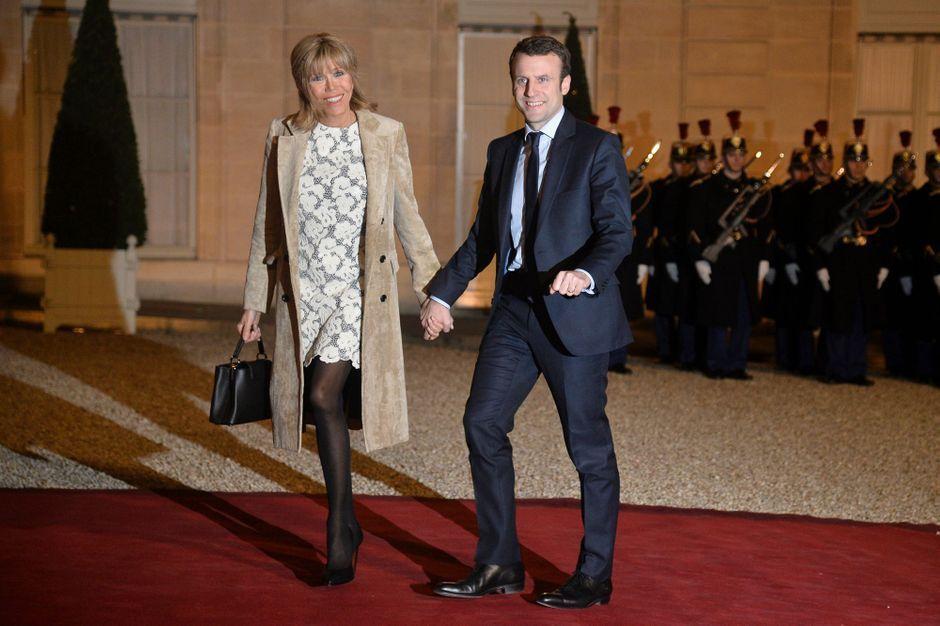 Brigitte Et Emmanuel Macron Prets Pour Tous Les Defis