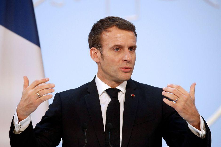Emmanuel Macron Vaimo