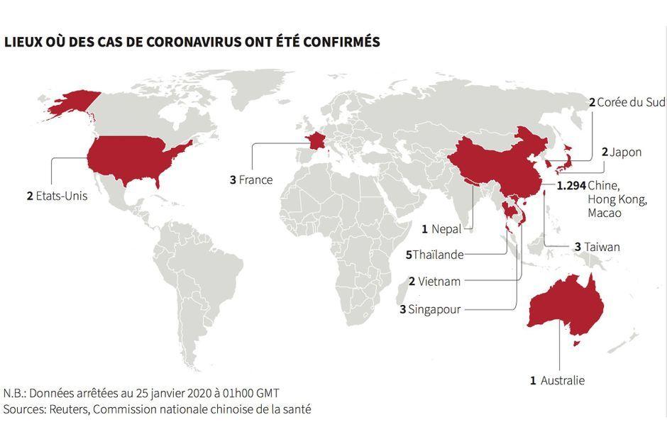 coronavirus welt