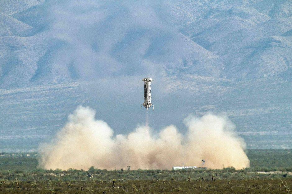 Blue Origin réussit son vol ultime avant les voyages habités dans l'espace