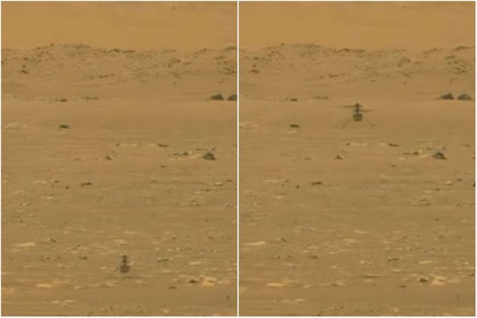 Pour la première fois de l'histoire, la Nasa fait voler un engin sur une autre planète