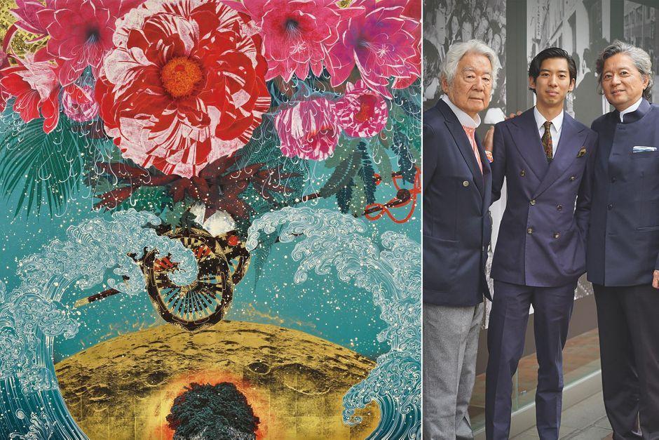 Tamenaga, une dynastie d'amoureux de la peinture