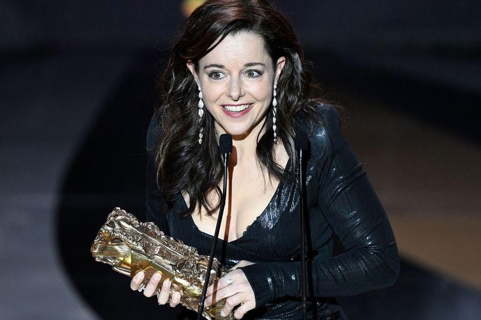 César 2021: la vie est belle pour Laure Calamy - Paris Match