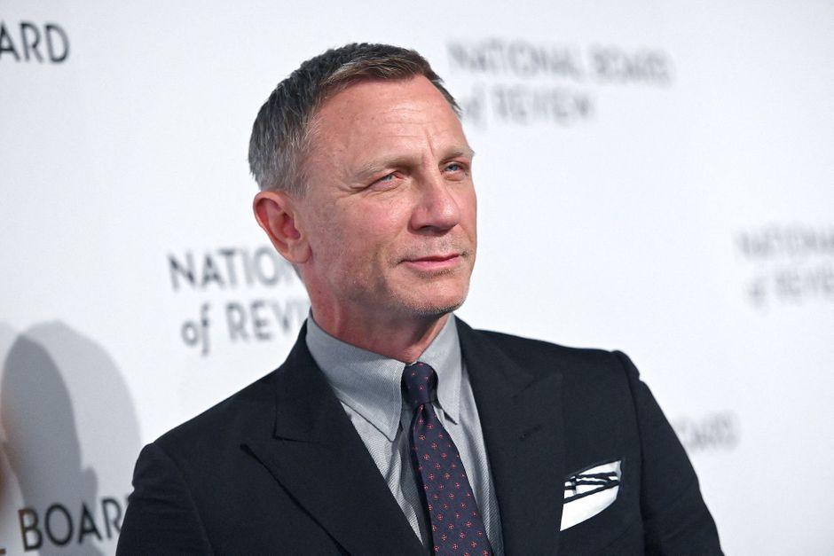 Les adieux de Daniel Craig à l'équipe de tournage des films James Bond