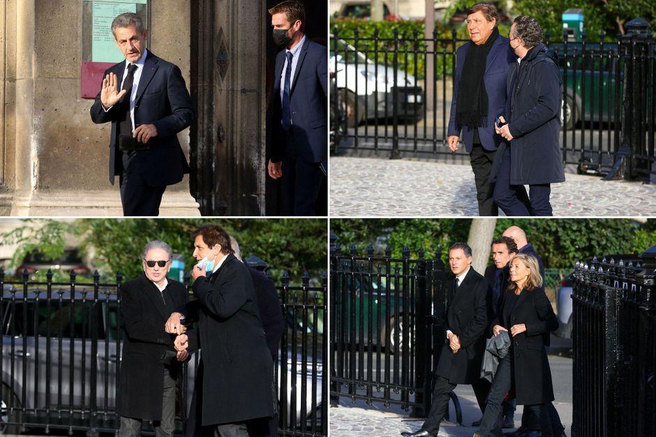 Claire Chazal, PPDA, Nicolas Sarkozy, Jean-Pierre Foucault... au dernier adieu à Etienne Mougeotte