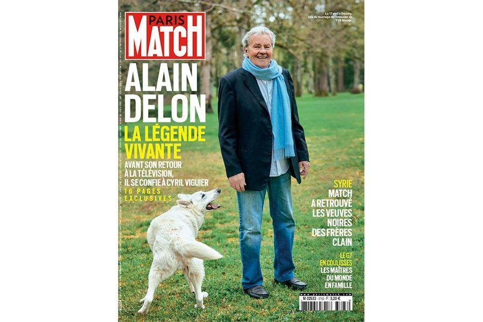 """Alain Delon: """"Hiromi, ma compagne japonaise, a été très présente pendant ma convalescence"""""""