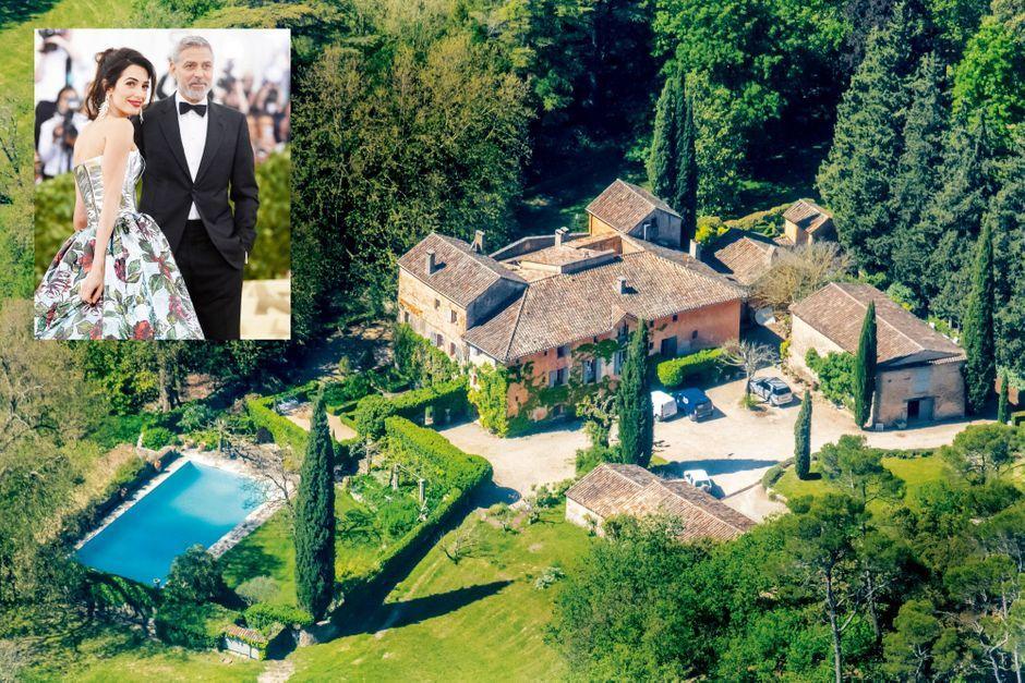 Amal et George Clooney débarquent en Provence