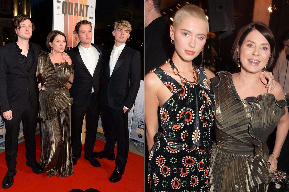Les enfants de Jude Law et Sadie Frost réunis autour de leur mère