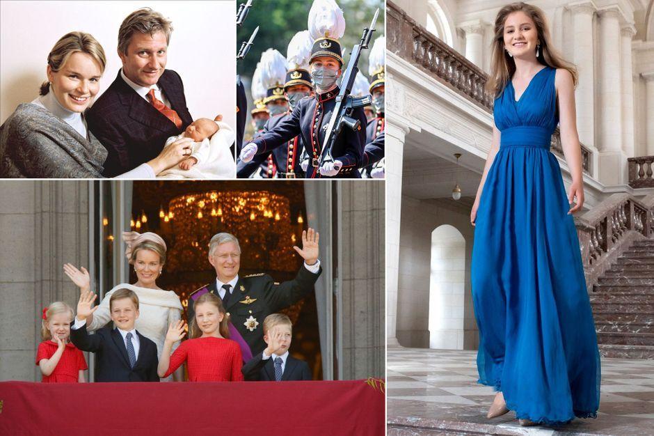 La princesse Elisabeth de Belgique a 20 ans : retour en photos sur 20 moments phares de sa vie
