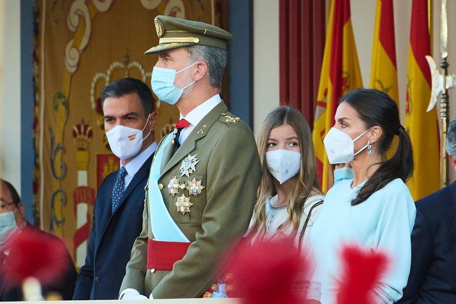 La princesse Leonor d'Espagne, grande absente de la Fête nationale