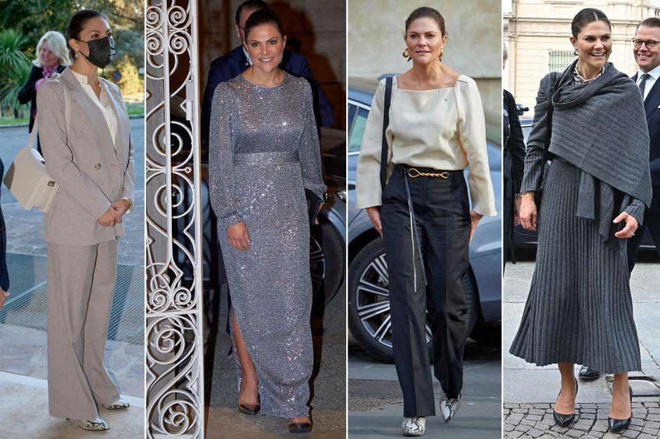 Princesse Victoria de Suède, zoom sur ses quatre looks en Italie