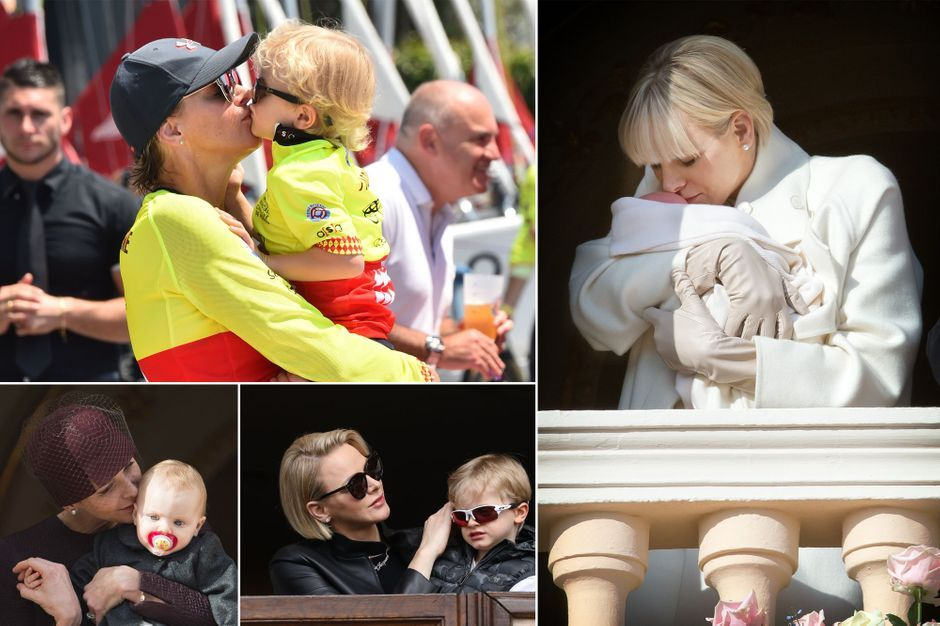 La princesse Charlène de Monaco, maman câline avec ses jumeaux Jacques et Gabriella, en 12 photos choisies