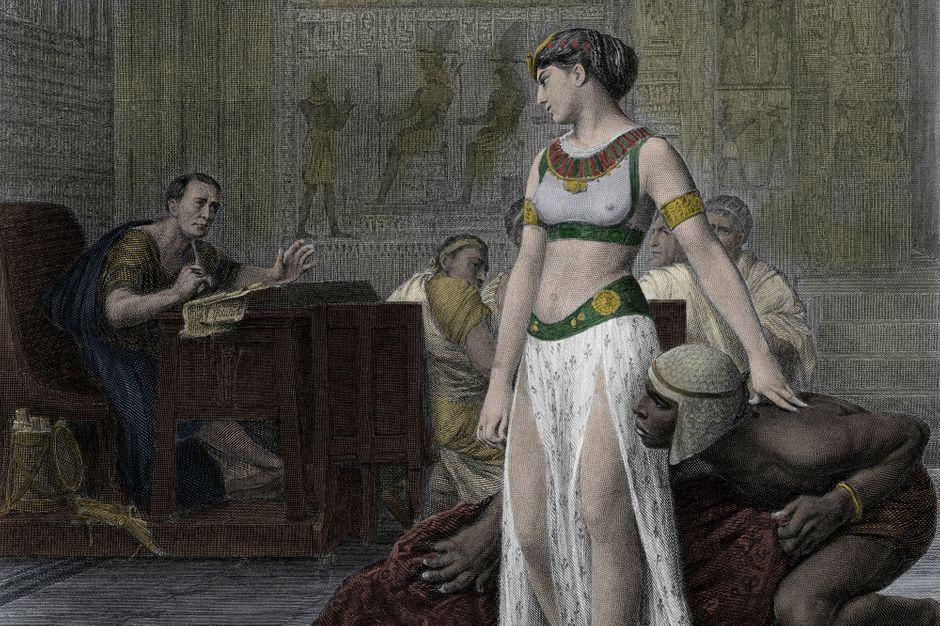 Cléopâtre, son insolite stratagème pour rencontrer César
