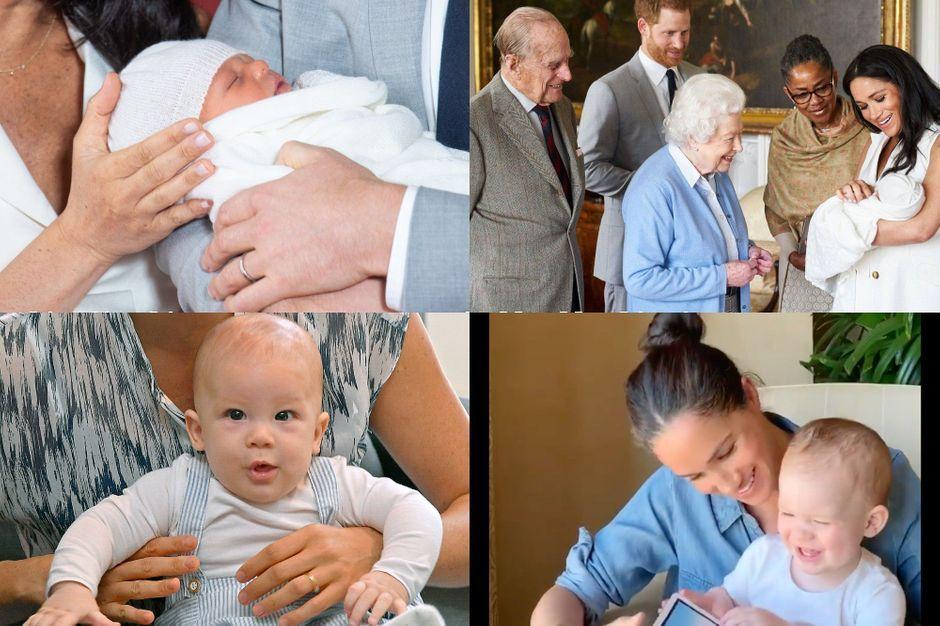 Archie fête son anniversaire : les 2 premières années du fils de Harry et Meghan en images