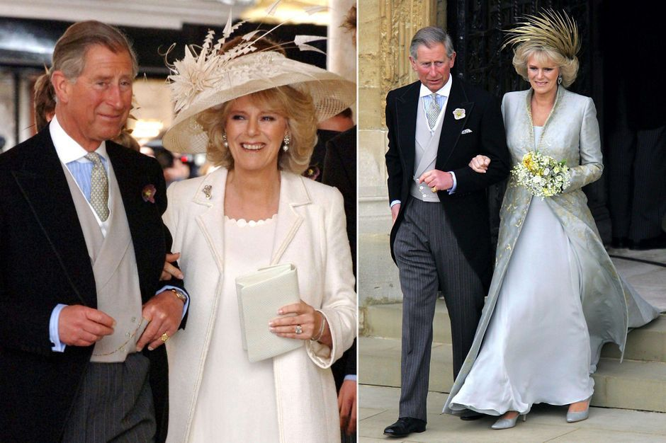 Au mariage du prince Charles et de Camilla Parker Bowles, il y a 15 ans