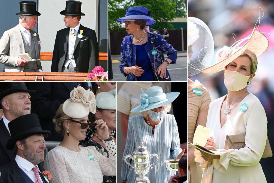 La famille royale britannique de retour au Royal Ascot sans la reine Elizabeth II
